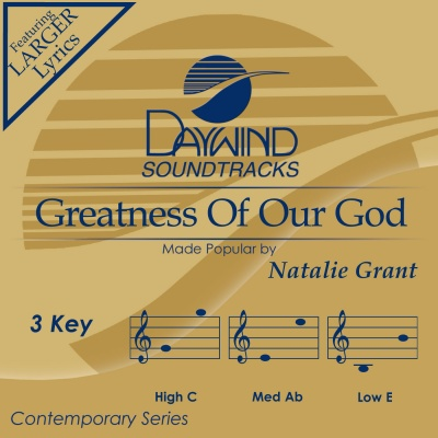 Greatness of Our God