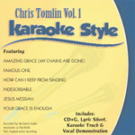 Karaoke Style: Chris Tomlin, Vol. 1