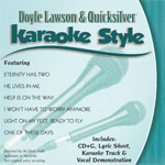 Karaoke Style: Doyle Lawson & Quicksilver, Vol. 1
